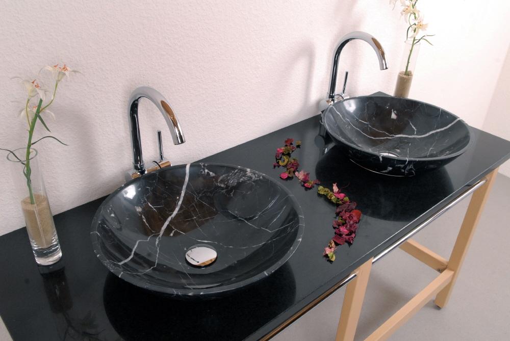 Elita nera alpgranit hochwertige esstische und for Hochwertige esstische