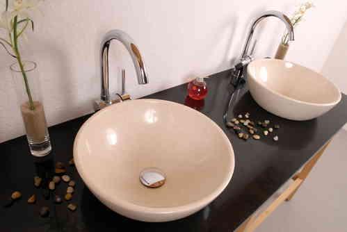 doppelwaschtische alpgranit hochwertige keramik und. Black Bedroom Furniture Sets. Home Design Ideas