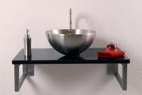 Waschtische wandmontage alpgranit hochwertige for Hochwertige waschtische