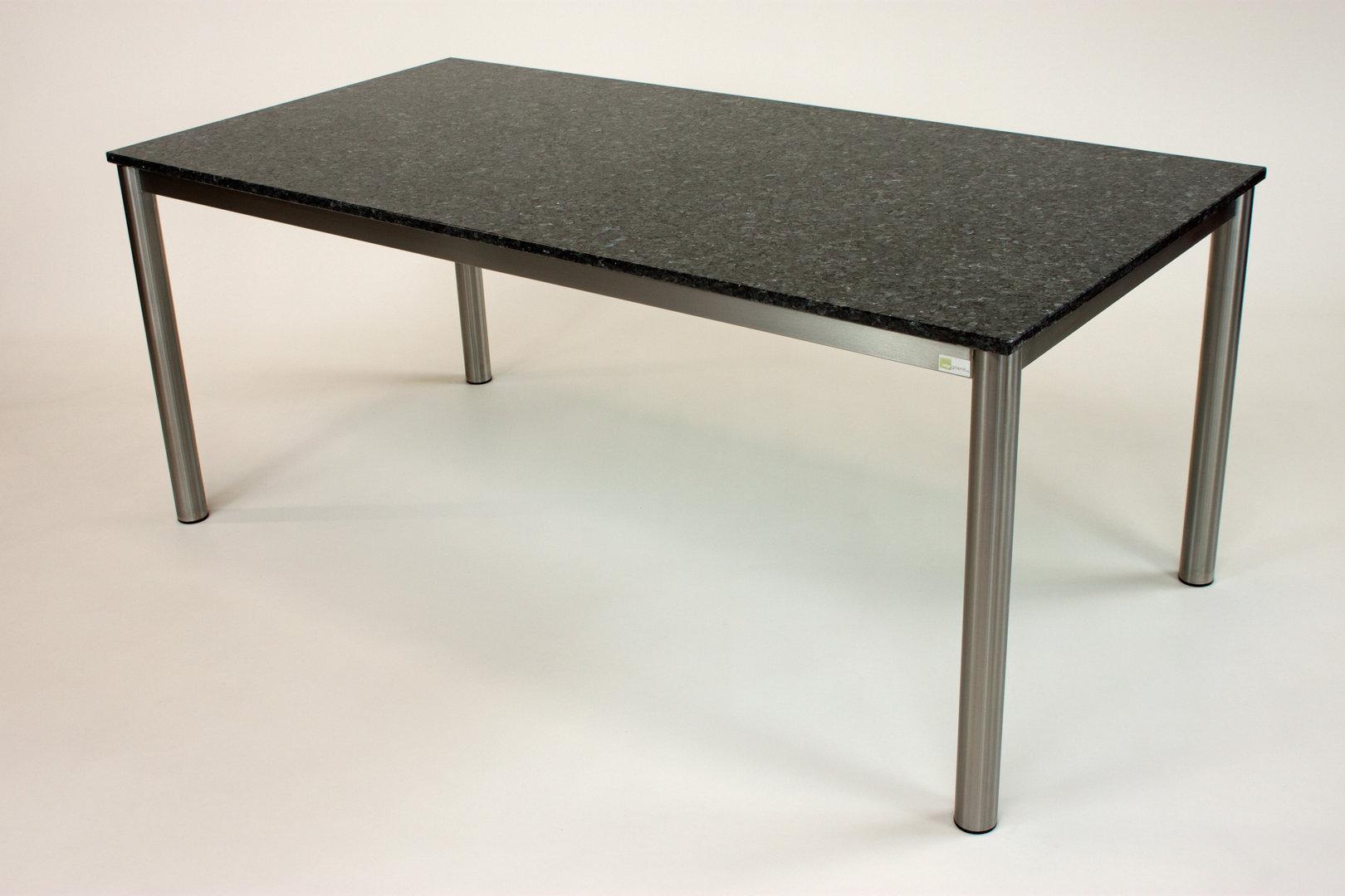 Varena granit esstisch alpgranit for Tisch aus granit