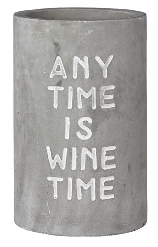 "Weinkühler "" any time is wine time"""