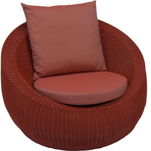 Lounge-Sessel Anny rot/cherry